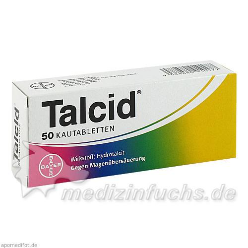 Talcid® Kautabletten, 50 St, Bayer Austria GmbH
