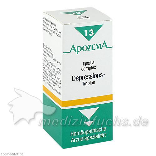 APOZEMA® Ignatia complex Depressions-Tropfen Nr. 13, 50 ml, Apomedica Pharmazeutische Produkte GmbH