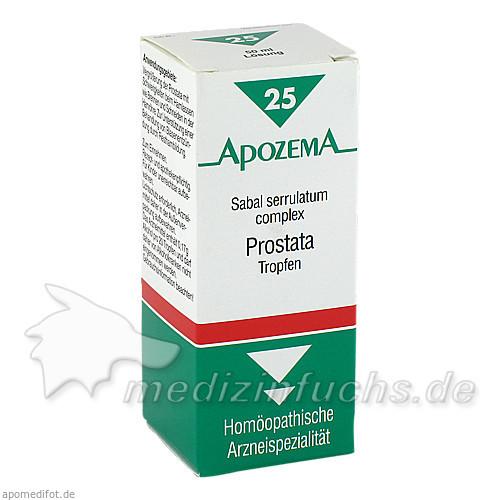 APOZEMA® Prostata-Tropfen Nr. 25, 50 ml, Apomedica Pharmazeutische Produkte GmbH