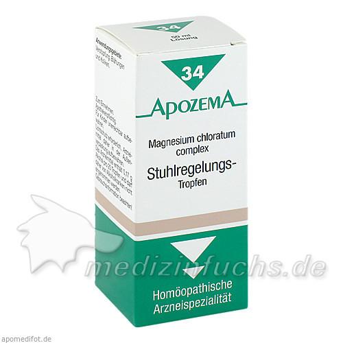 APOZEMA® Stuhlregelungs-Tropfen Nr. 34, 50 ml, Apomedica Pharmazeutische Produkte GmbH
