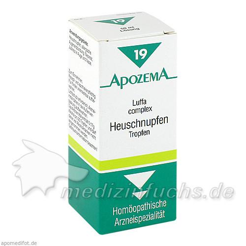 APOZEMA® Heuschnupfen-Tropfen Nr. 19, 50 ml, Apomedica Pharmazeutische Produkte GmbH