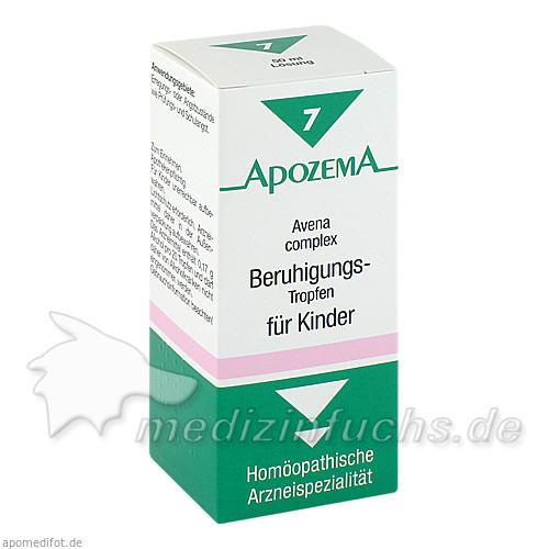 APOZEMA® Beruhigungstropfen für Kinder Nr. 7, 50 ml, Apomedica Pharmazeutische Produkte GmbH
