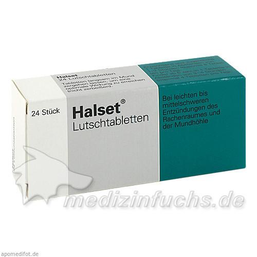Halset® Lutschtabletten, 24 St, GSK-Gebro Consumer Healthcare GmbH