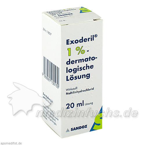Exoderil dermatologische Lösung 1%, 20 ml, SANDOZ GMBH.