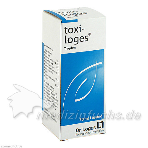 toxi-loges® Tropfen, 50 ml, Loges Dr. + Co GmbH