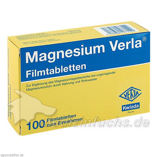 Magnesium Verla®, 100 St, Kwizda Pharma GmbH
