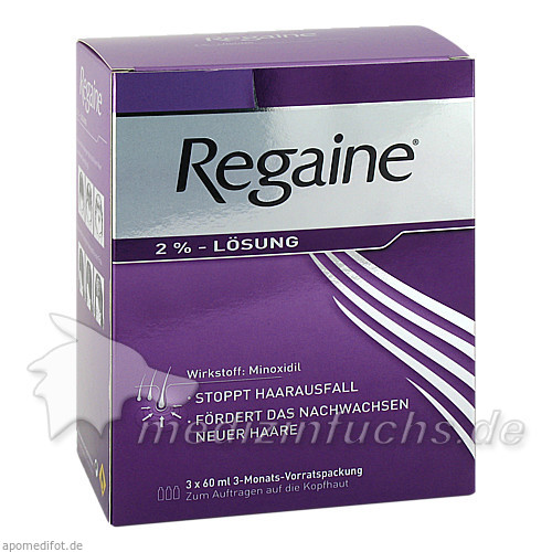Regaine® 2%, 180 ml, Johnson & Johnson GmbH