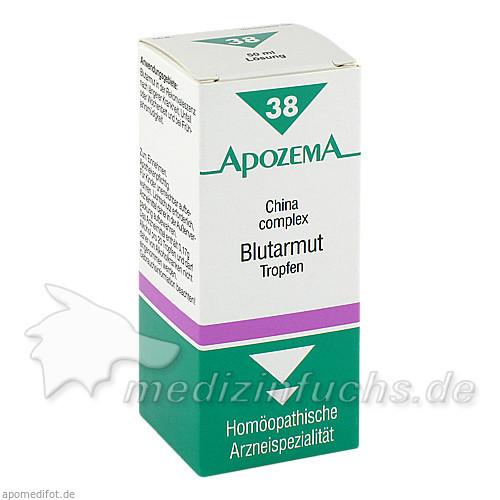 APOZEMA® Blutarmut-Tropfen Nr. 38, 50 ml, Apomedica Pharmazeutische Produkte GmbH