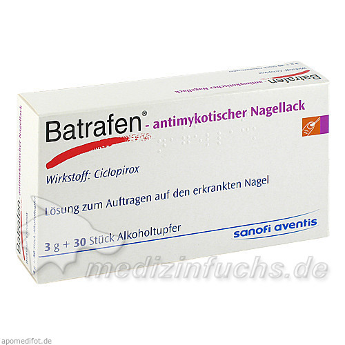 Batrafen® - antimykotischer Nagellack, 3 G, Sanova Pharma GesmbH, OTC