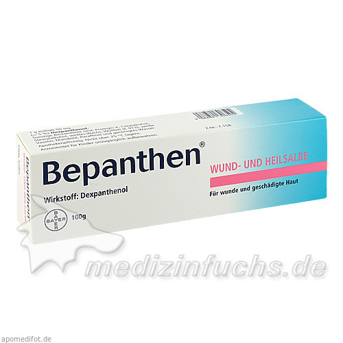 Bepanthen® Wund- und Heilsalbe, 100 g, Bayer Austria GmbH