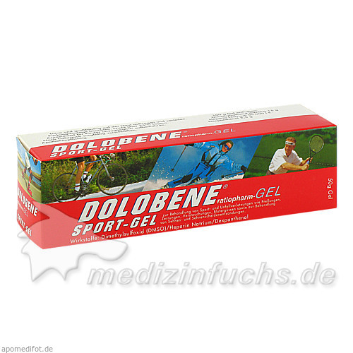 DOLOBENE® Sport-Gel, 50 g, Ratiopharm Arzneimittel GmbH