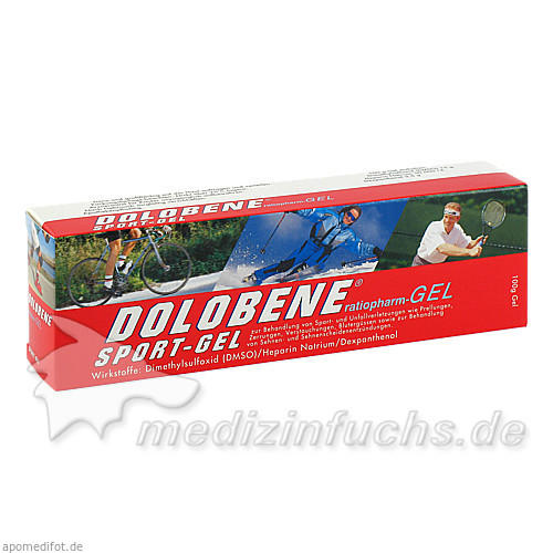 DOLOBENE® Sport-Gel, 100 g, Ratiopharm Arzneimittel GmbH