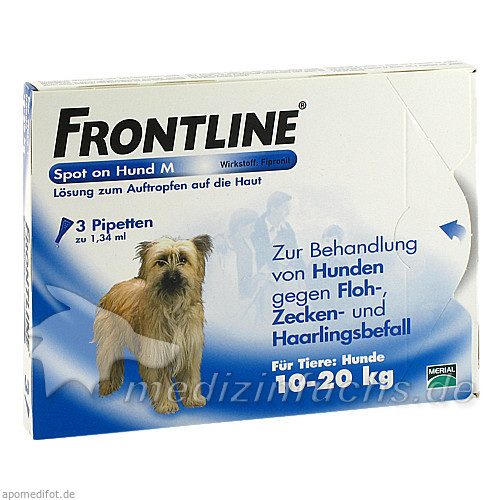 Frontline Spot Mtlgr Hund, 3 Stk., Merial S.A.S.