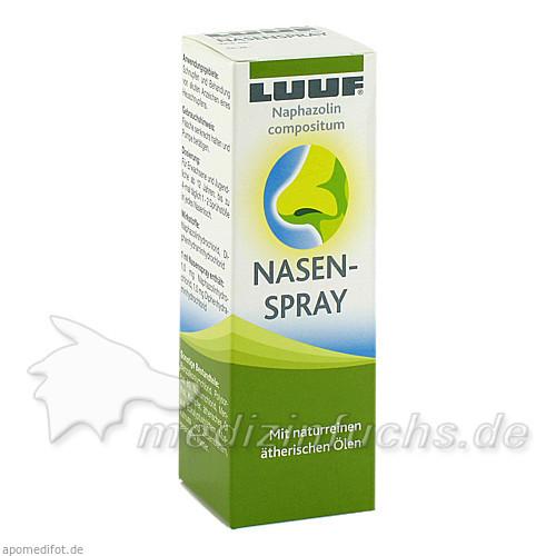 LUUF® Naphazolin Compositum Nasenspray, 15 ML, Apomedica Pharmazeutische Produkte GmbH