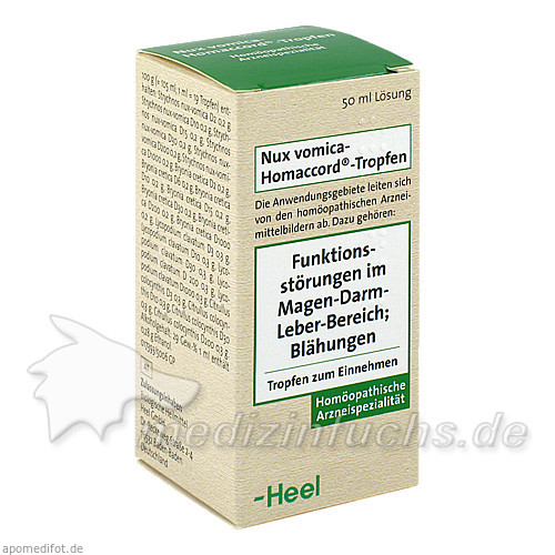 Nux vomica-Homaccord®-Tropfen, 50 ml, Dr. Peithner GmbH & Co KG