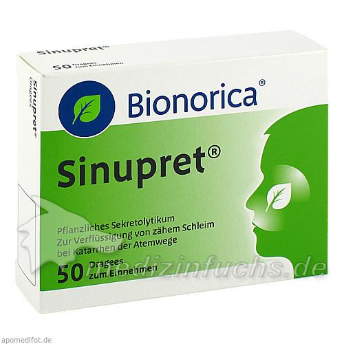 Sinupret® Dragees, 50 ST, Bionorica Austria GmbH
