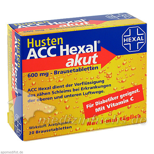 Husten ACC Hexal® akut 600 mg, 20 St, Sandoz GmbH