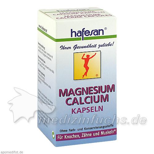 Hafesan Magnesium + Calcium Kapseln, 75 Stk., REFORM U DIAETPRODUKTE