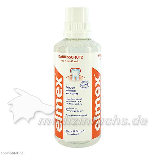 Elmex Kariesschutz Zahnspülung, 400 ml, GEBRO PHARMA GMBH