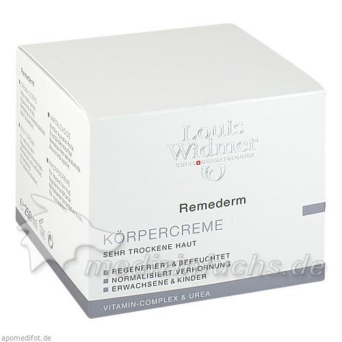 Louis Widmer Remederm Körpercreme, 250 ml,