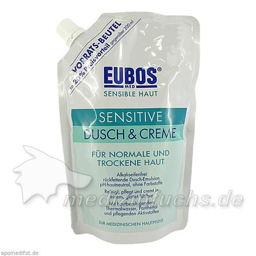 Eubos Sensitive Dusch&Creme Nachfüllung, 400 ml, Jacoby GM Pharma GmbH
