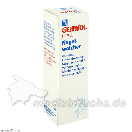 Gehwohl med Nagelweicher Lösung, 15 ml, SYNPHARMA GMBH