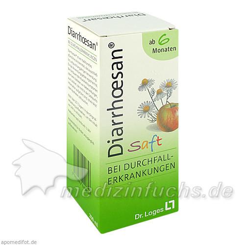 diarrhoesan® Saft, 200 ml, Loges Dr. + Co GmbH