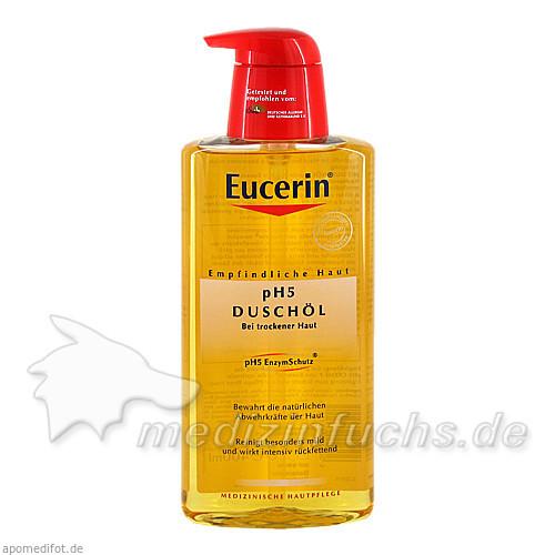 Eucerin pH5 Duschöl mit Pumpspender, 400 ml, BEIERSDORF G M B H