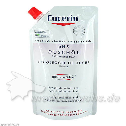 Eucerin pH5 Duschöl Nachfüllung, 400 ml, BEIERSDORF G M B H
