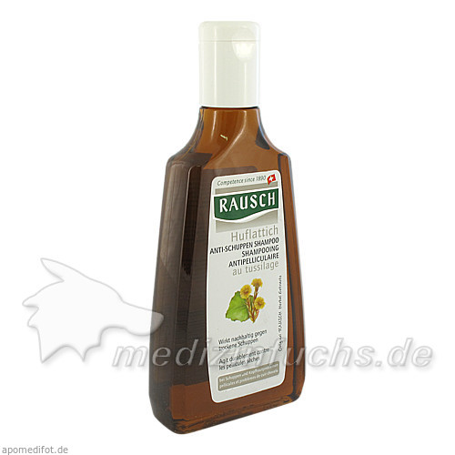 Rausch Huflattich Anti-Schuppen Shampoo, 200 ml, RAUSCH AUSTRIA GMBH.