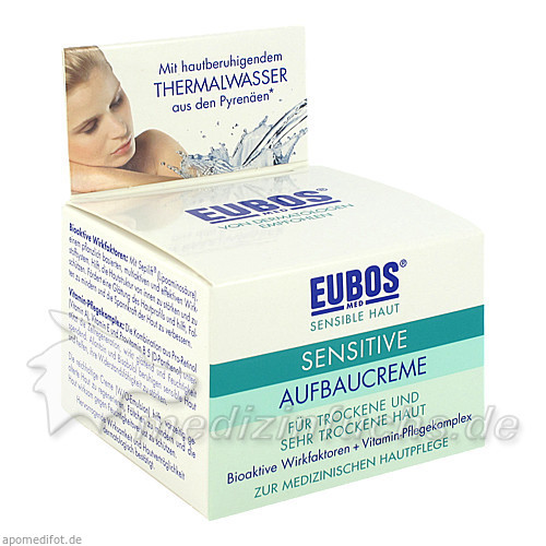 Eubos Sensitive Aufbaucreme, 50 ml,