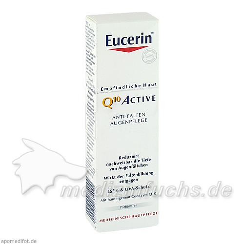 Eucerin Q10 Active Anti-Falten Augenpflege LSF6, 15 ml, BEIERSDORF G M B H
