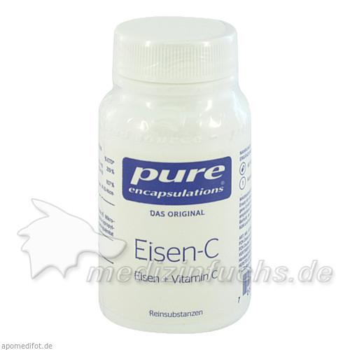 Pure Encapsulation Eisen + Vitamin C Kapseln, 60 Stk., PRO MEDICO HANDELS GMBH