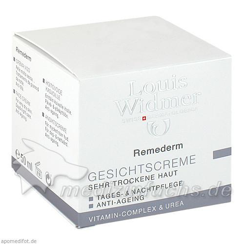 Widmer Remederm Gesichtscreme mit Parfum, 50 ml, WIDMER LOUIS GES M B H