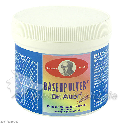 Basenpulver® Dr. Auer®, 150 g, Kwizda Pharma GmbH