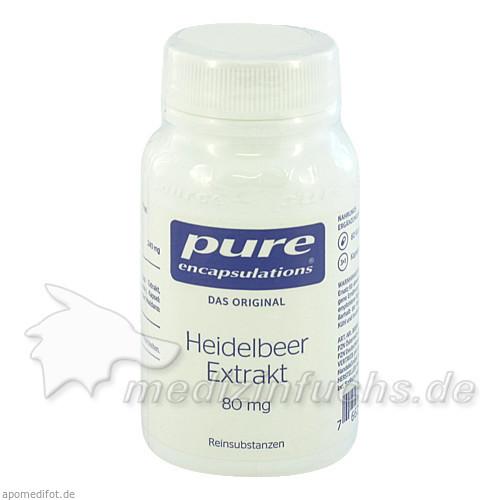 Pure encapsulations Kapseln Heidelb.Extr80mg, 60 Stk.,