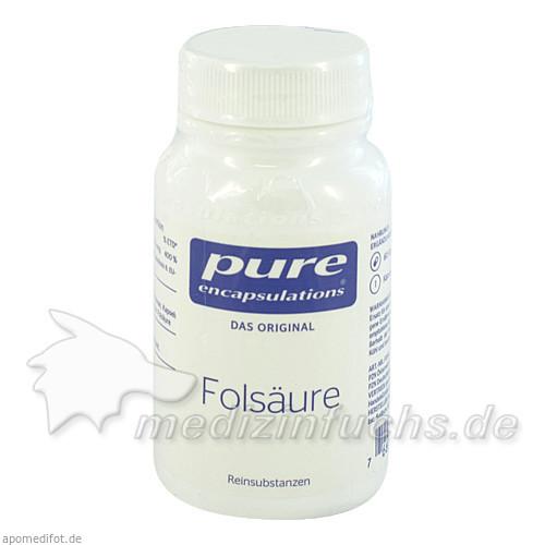 Pure Encapsulations Folsäure Kapseln, 60 Stk., PRO MEDICO HANDELS GMBH