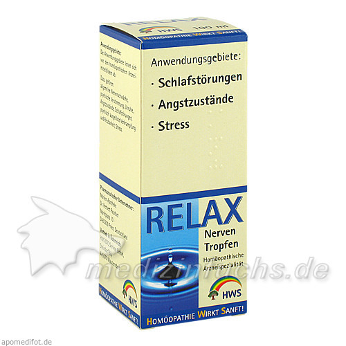 Relax Nerventropfen, 100 ml, HWS-OTC Service GmbH