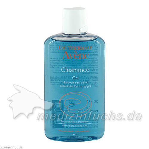 Avène Cleanance Reinigungsgel, 200 ml, Pierre Fabre Pharma GmbH