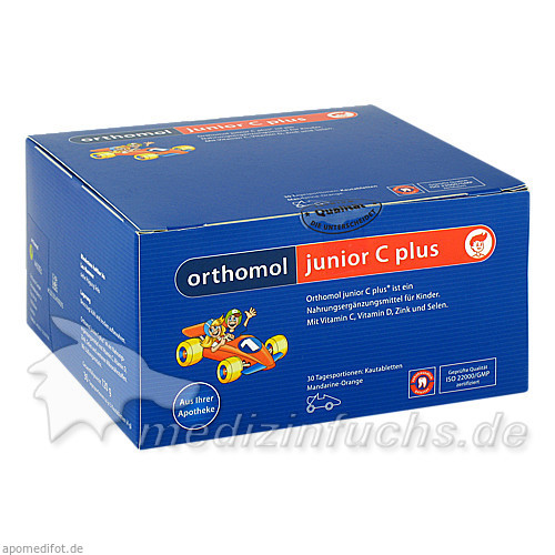 Orthomol Jun.C Plus Kautabletten Man, 30 Stk.,