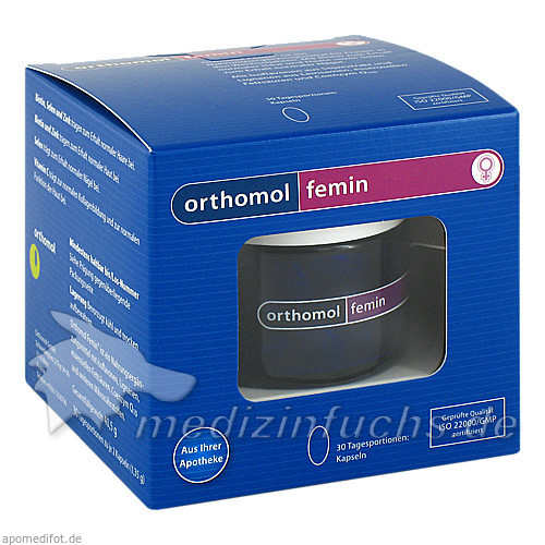 Orthomol Femin Kapseln, 60 Stk., SYCON TRADING GMBH