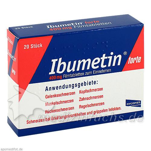Ibumetin® forte 400 mg, 20 St, Takeda GmbH