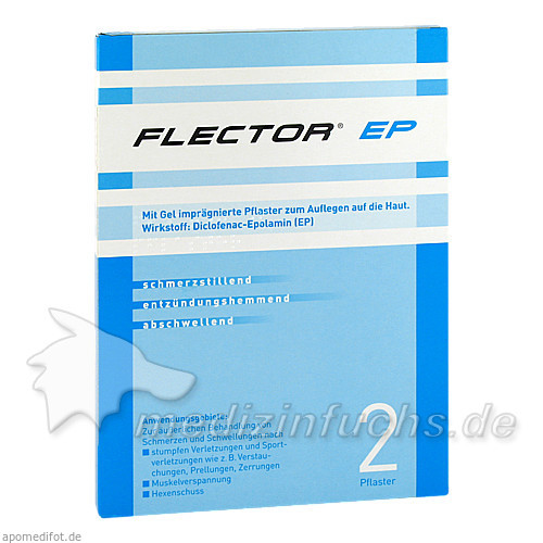 FLECTOR® EP Pflaster, 2 St, Sanova Pharma GesmbH
