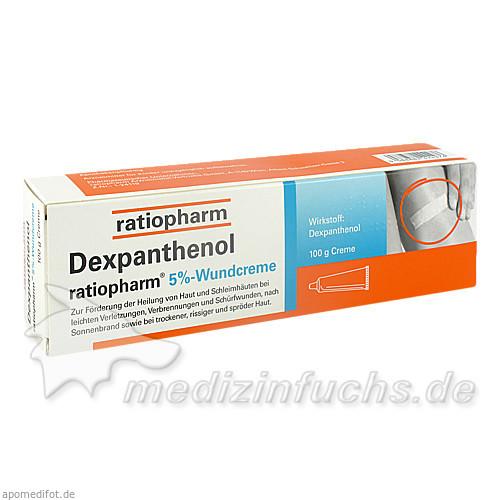 Dexpanthenol ratiopharm® 5%-Wundcreme, 100 g, Ratiopharm Arzneimittel GmbH