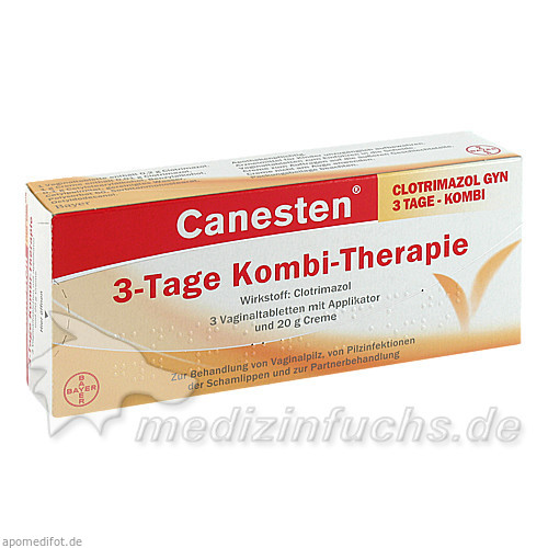 Canesten® Gyn 3-Tage Kombi-Therapie, 1 St, Bayer Austria GmbH