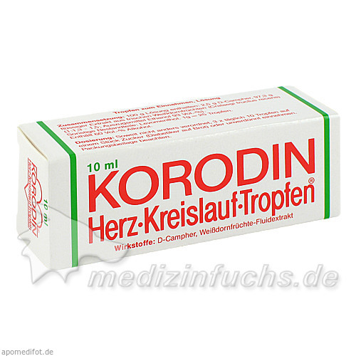Korodin® Herz-Kreislauf-Tropfen, 10 ml, Dr. A. & L. Schmidgall GmbH & Co KG