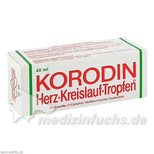 Korodin® Herz-Kreislauf-Tropfen, 40 ml, Dr. A. & L. Schmidgall GmbH & Co KG
