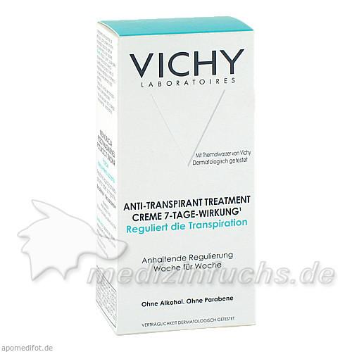 Vichy Deodorant Creme Anti Transpirant mit 7-Tage-Wirkung, 30 ml,