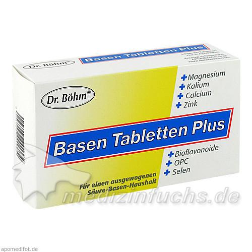 Dr. Böhm® Basen Tabletten Plus, 60 St, Apomedica Pharmazeutische Produkte GmbH