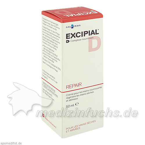 Excipial Repair Handcreme, 50 ml, ZZZ99